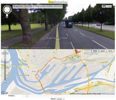 Running Streetview
