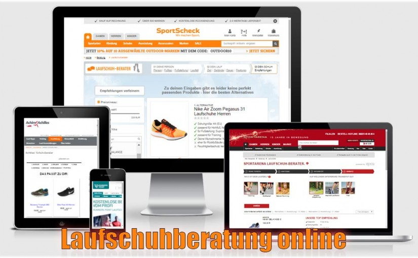 Online Laufschuh-Berater angetestet