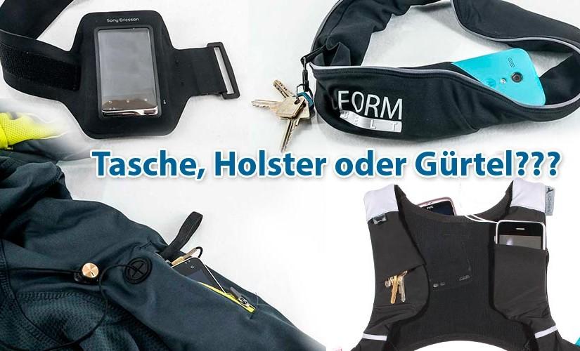 Test: Oberarmtaschen, Sportholster, Laufgürtel…
