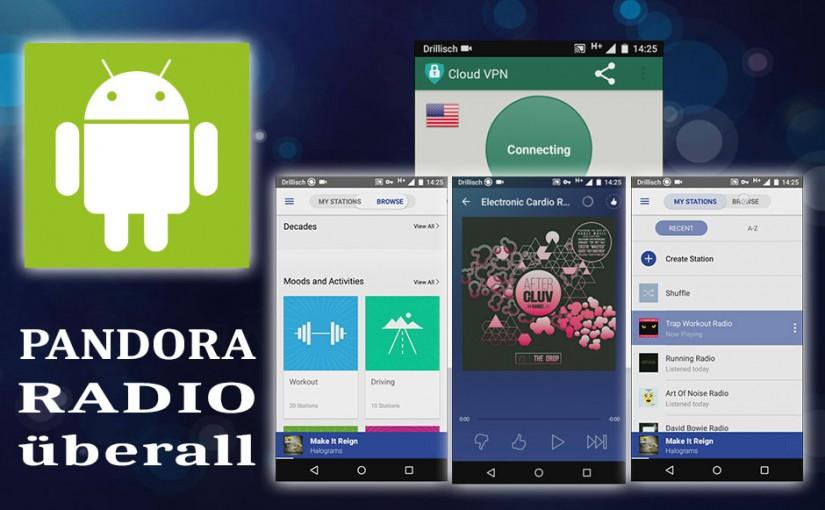 Pandora Radio überall