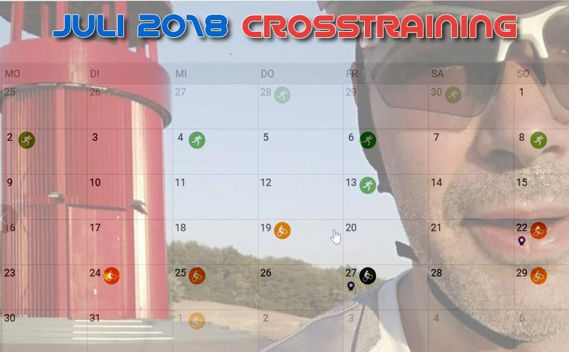 Juli 2018: Crosstraining