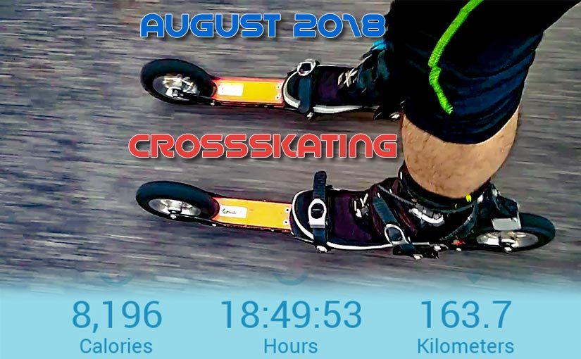 August 2018: Cross-Skating
