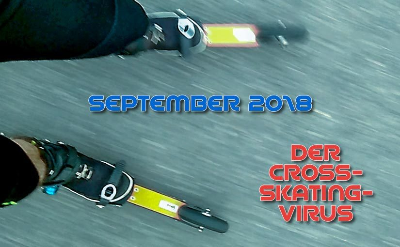 Sept. '18: 20 TE Cross-Skating